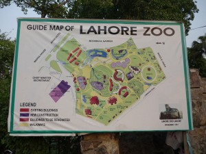 lahore zoo - AlifYAY - guide map