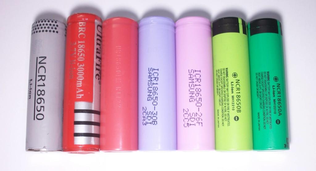 18650 battery vape battery